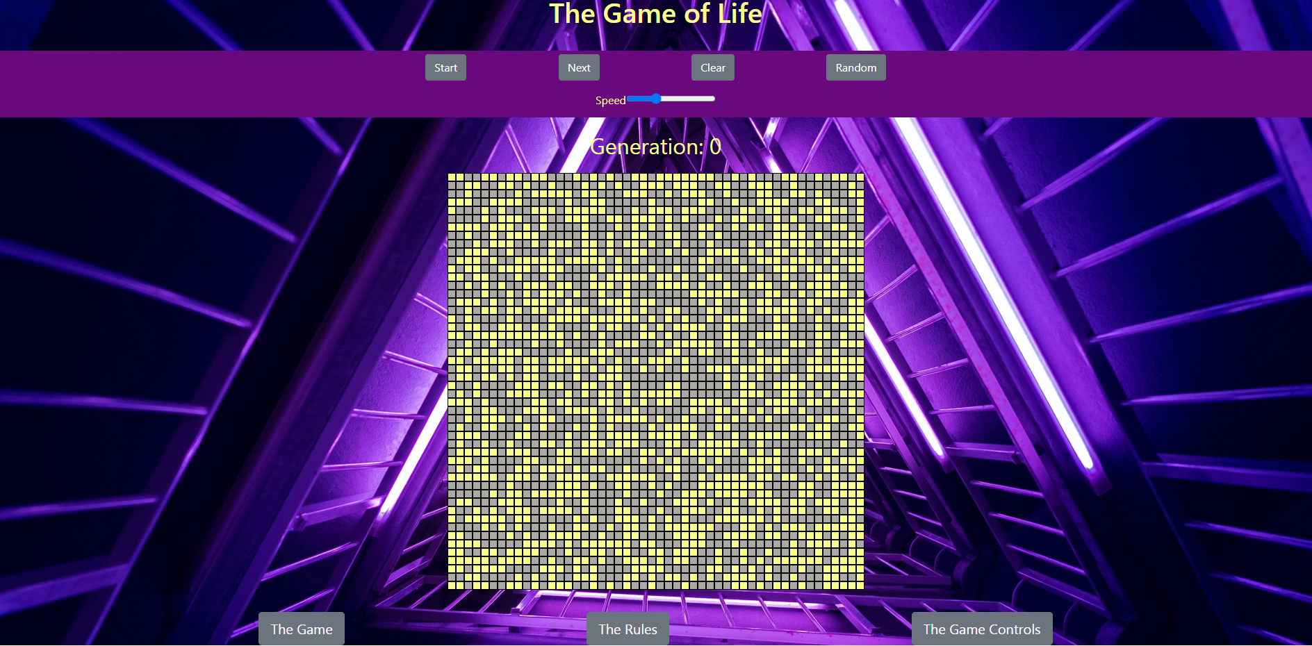 Game of Life project